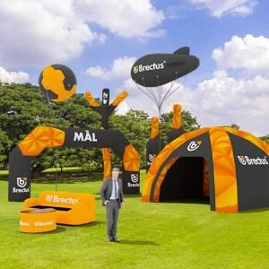 Brectus - Oppblåsbare Produkter, Målbue, Oppblåsbart Telt, Skydancer, Målportal, Oppblåsbare møbler, Oppblåsbare ballonger, oppblåsbar ballong
