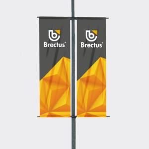 Brectus Bannerholder Stolpe