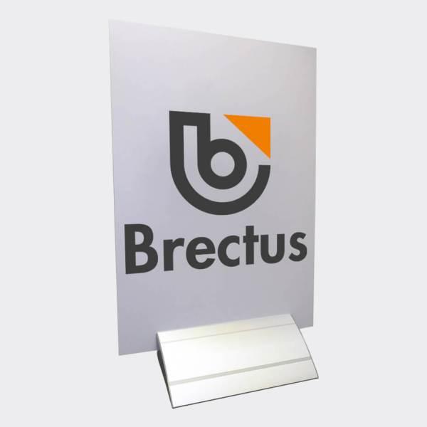 Brectus Skyltfot Alu