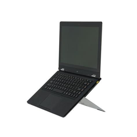 r-go-riser-attachable-laptopstandaard-zilver