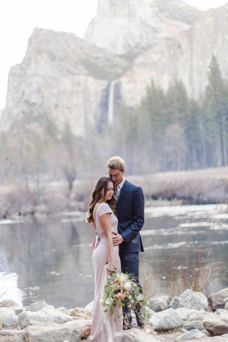 Yosemite National Park Engagement Session | CA Wedding Photography by Bree and Stephen Photography, San Diego Wedding Photographers Bree and Stephen