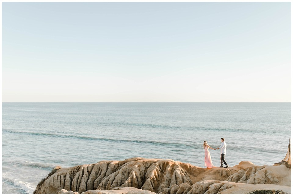 Carlsbad Cliffs Engagement by Bree and Stephen Photography - San Diego Wedding Photography by Bree and Stephen Photography - Carlsbad, CA Engagement
