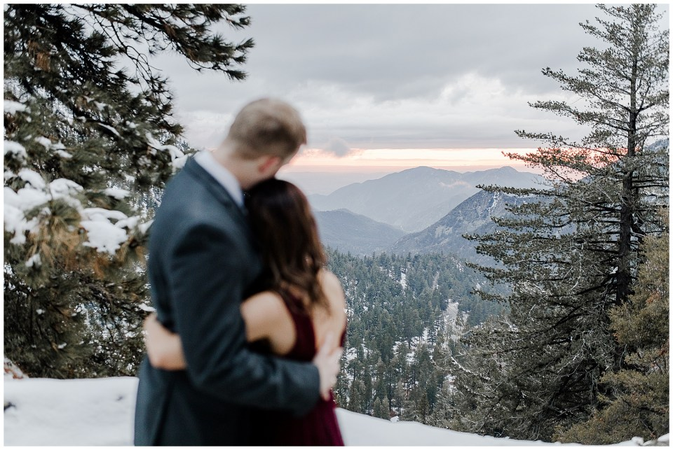 Mt Baldy Engagement Photography Session