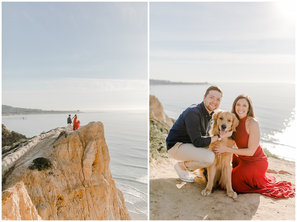 Engagement Photos at Black's Beach in San Diego, CA