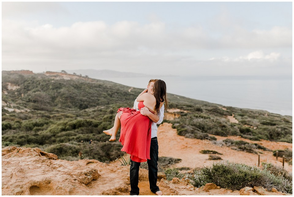 Torrey Pines Engagement Photography Session