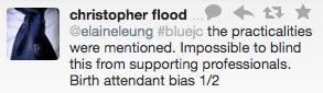 blinding and bias