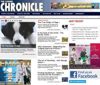The Canine Chronicle website.
