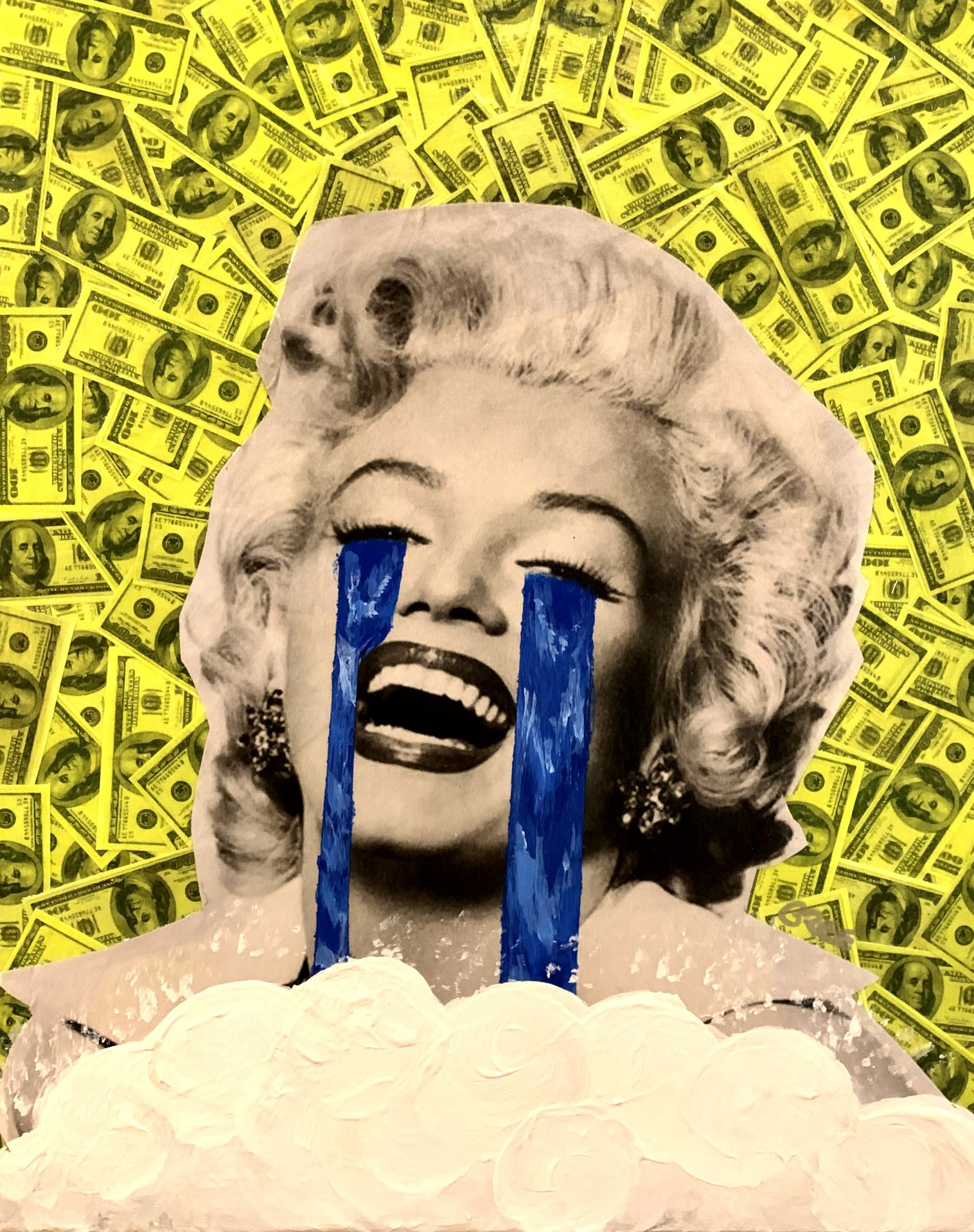 Everything is Fine Marilyn Green Money (8x10)
