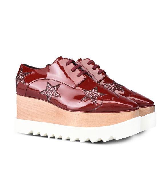 Chaussures Elyse à étoiles rubis - Stella McCartney