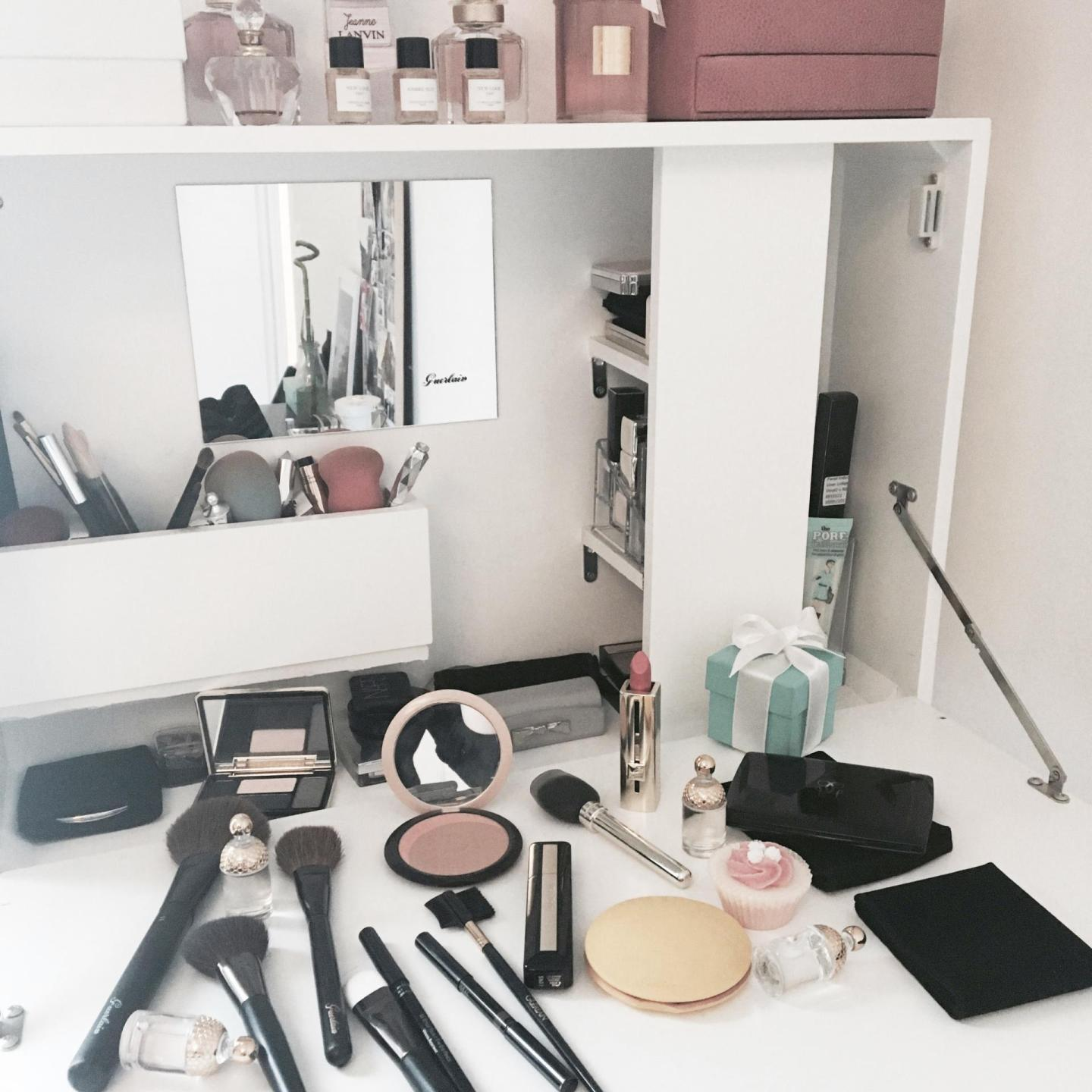 Ma routine make-up + concours Guerlain 1