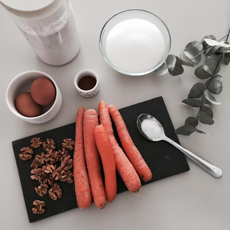 Carrot cake, ma recette sans matière grasse et gourmande _ image 1
