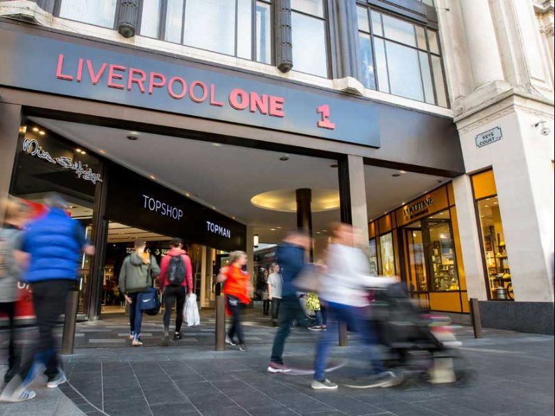 A picture of Liverpool One