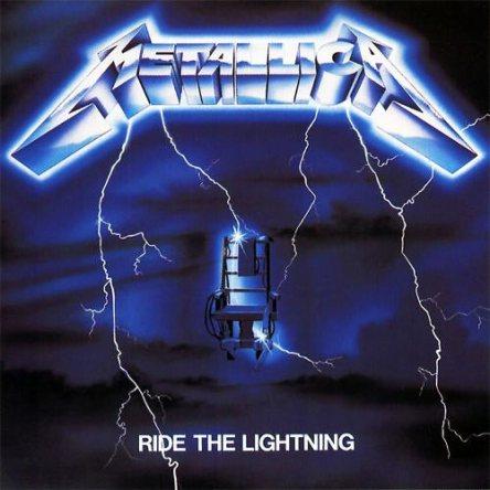 Metallica Ride the Lightning album cover