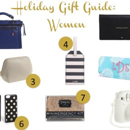 Holiday Gift Guide: Women