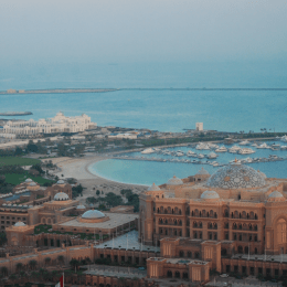UAE: Emirates Palace Hotel in Abu Dhabi