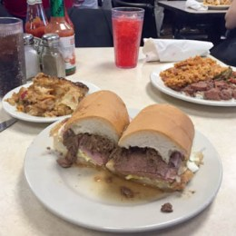 """""""Linner"""" at Mother's In New Orleans"""