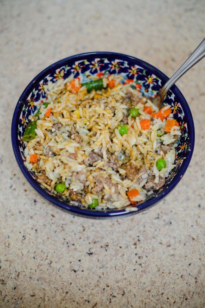 Eating Gluten Free- Fried Rice-12