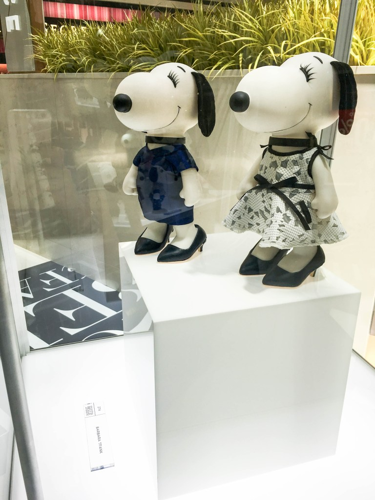 Snoopy and Belle in Fashion | Breezing Through
