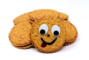 Cookie Smiling