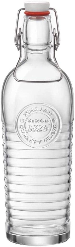 italian glass bottle