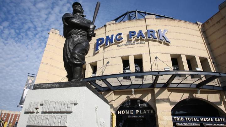 Honus Wagner Statue at PNC Park