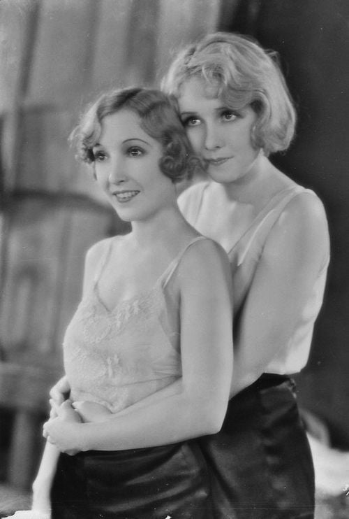 Bessie Love and Anita Page in The Broadway Melody 1929
