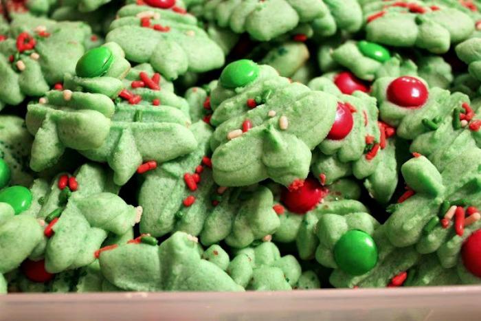 butter press cookies