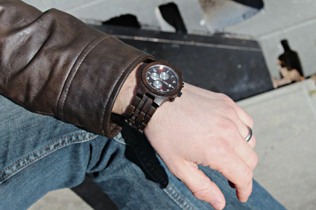 men's wood watch