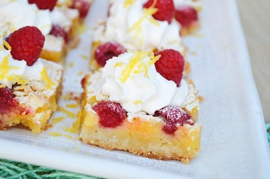 Raspberry Lemon Bars