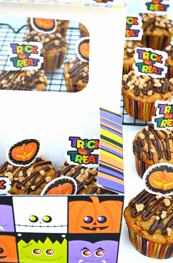 Pumpkin Toffee Muffins Recipe