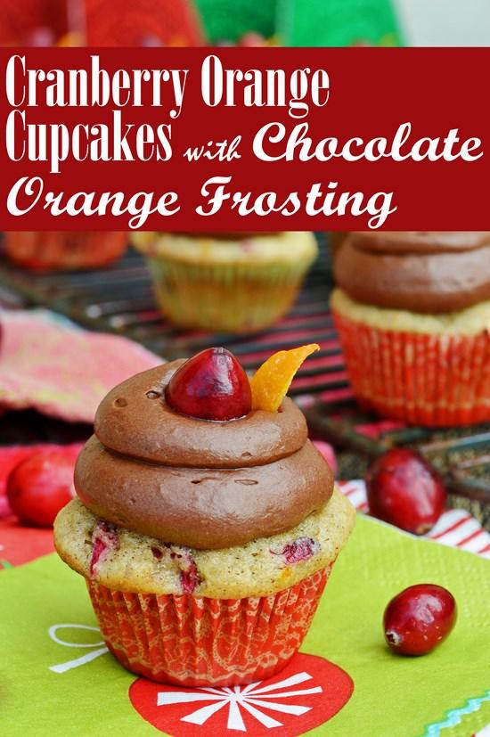 Cranberry Orange Cupcakes Gluten Free