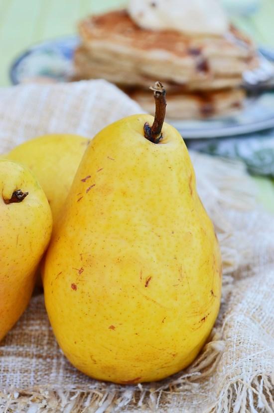 Gluten Free Pear Pancakes