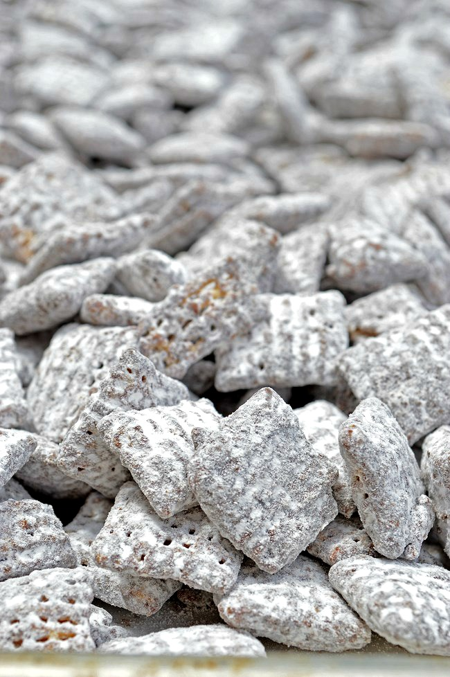 Add this to your favorites! Gluten Free Peppermint Chex Mix Muddy Buddies are flavored with peppermint and chocolate rather than peanut butter. It's peppermint dark chocolate crunchy goodness!