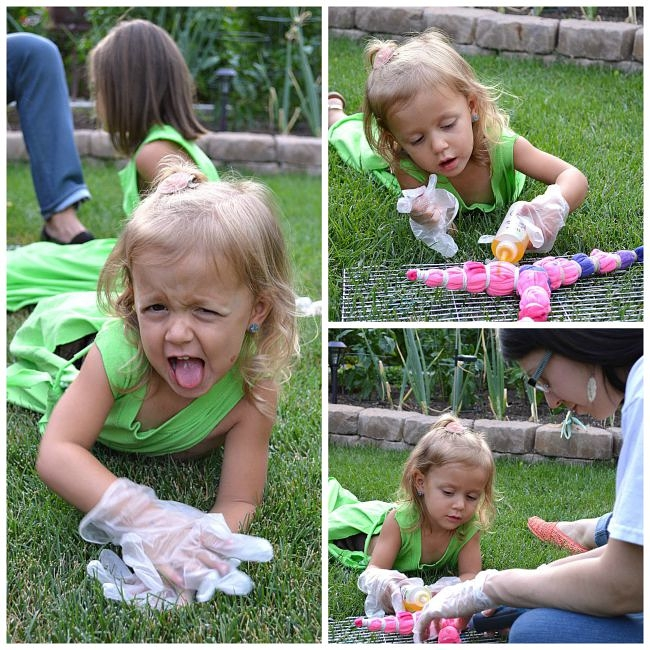 tie dying shirts
