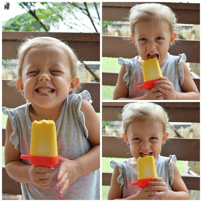 Make these Gluten Free Mango Lime Cheesecake Popsicles for a naturally sweet, healthy, and refreshing treat. Eat these before the summer ends!