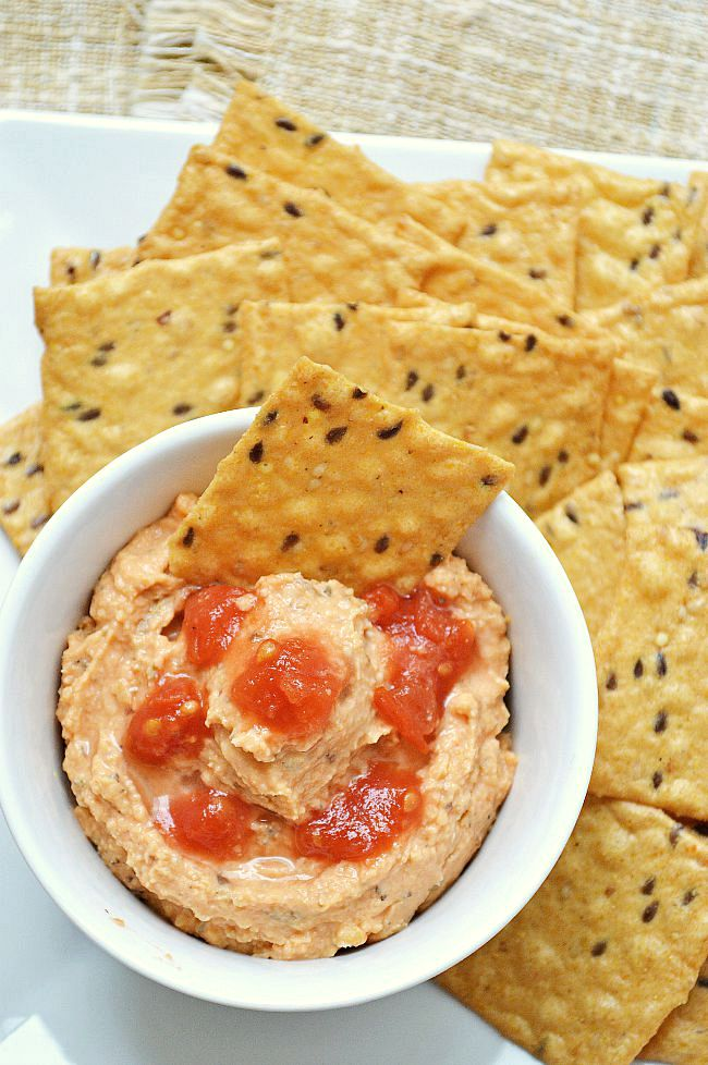 Whip up this Gluten Free Italian Cream Cheese Hummus as a slightly spicy and beautifully bold dip for your next dinner party. Your guests are sure to enjoy!