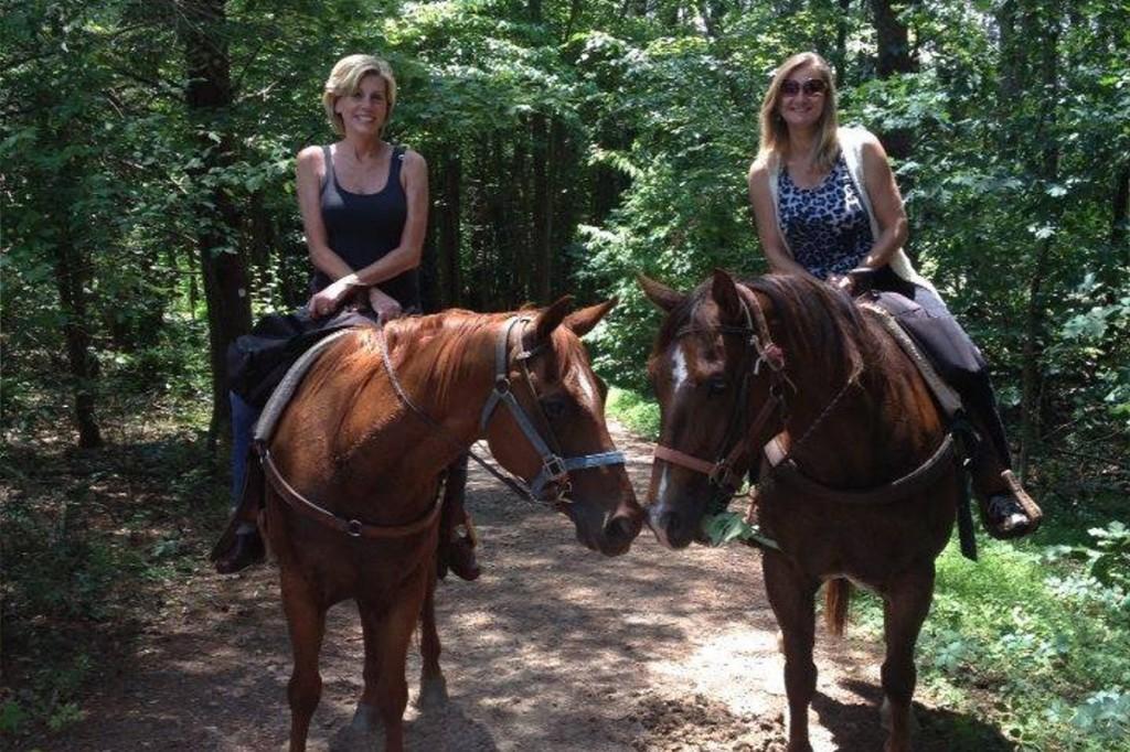 Riding Horseback Trail Mountain