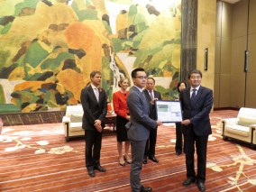 Bloomin' marvellous: BREEAM certificate for Wuhan's lily shaped low carbon building