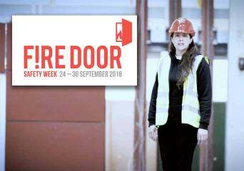 BRE supporting Fire Door Safety Week
