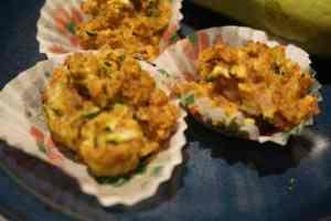 Zucchini Hackfleisch Muffins
