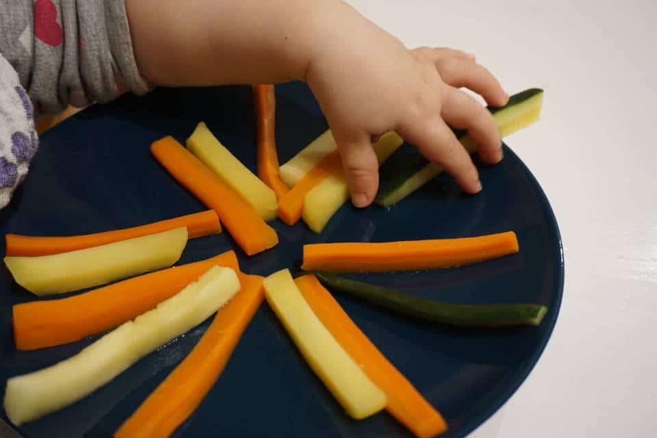 Einsteiger Gemüse baby-led weaning - Gemüsesticks