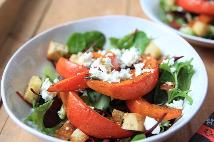 Kürbis-Feta-Salat - inspiriert durch das Buch Taste of Love - Geheimzutat Liebe