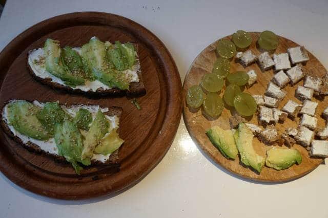 breifrei Frühstück