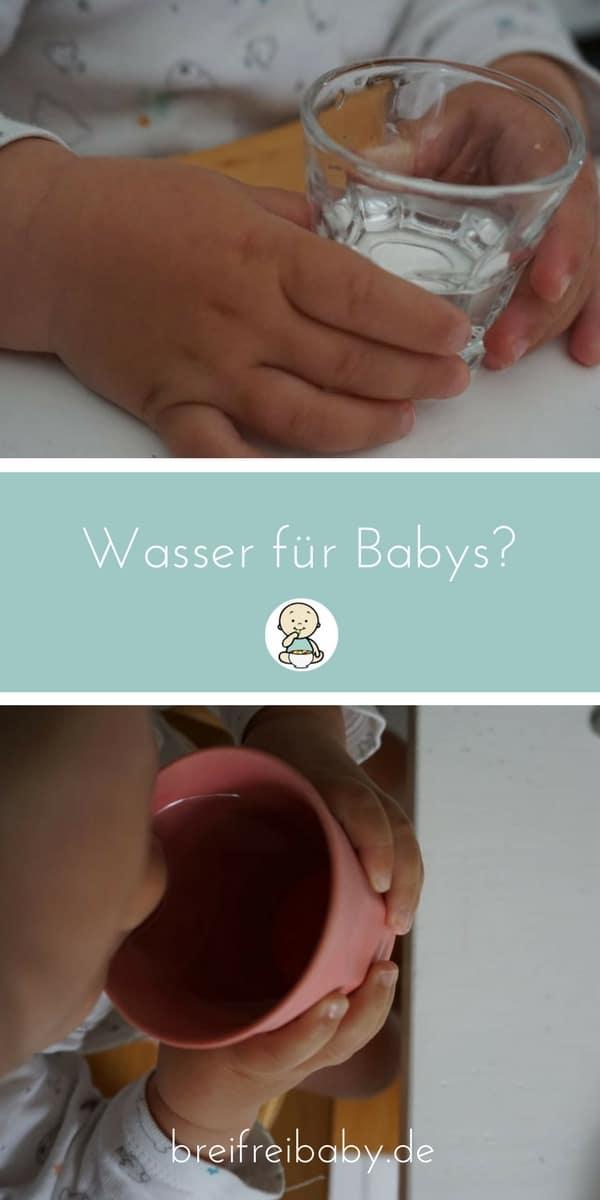 Wasser für Babys