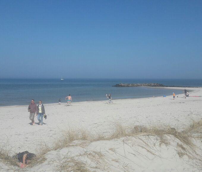 Ostsee mit Kindern - der tollste Strand in Laboe