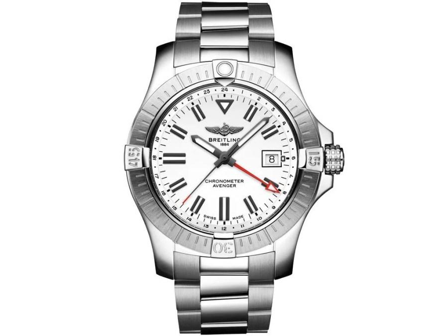 ホワイトダイヤルの2021新作モデルが新たに登場!「アベンジャー オートマチック GMT 43」-アベンジャー お知らせ