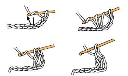 bride au crochet