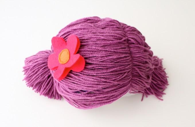 perruque en laine