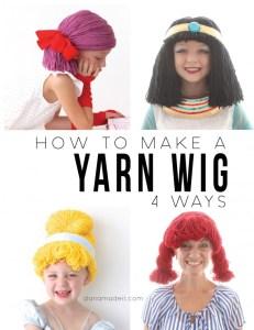 comment faire une perruque en laine