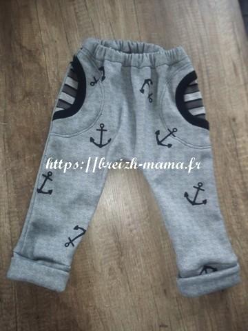 Pantalon marin